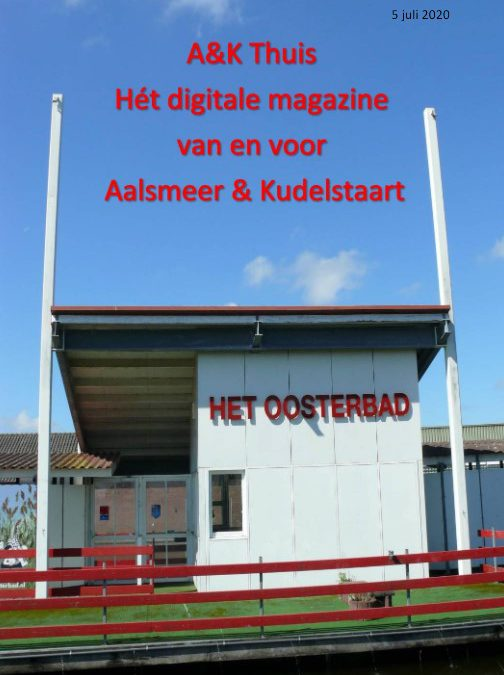 Oosterbad in beeld in online magazine 'A&K Thuis'